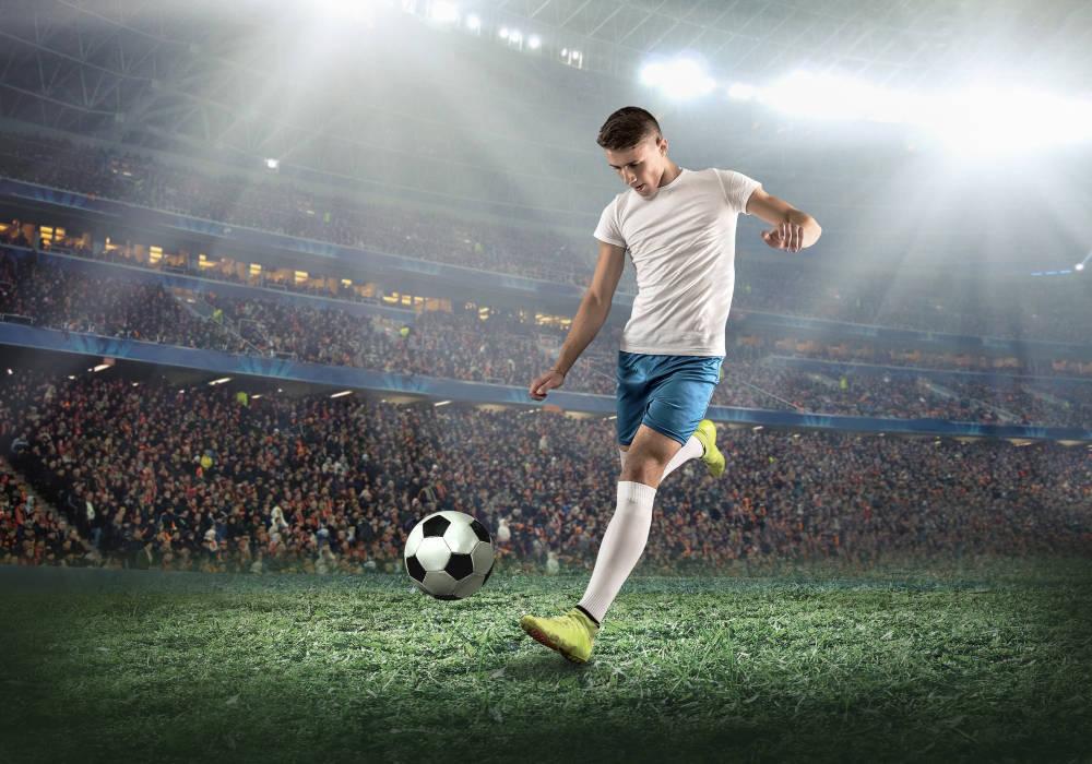 ¿Cuál es el equipamiento de un jugador de fútbol?